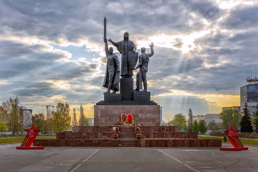 Памятник героям фронта и тыла фото