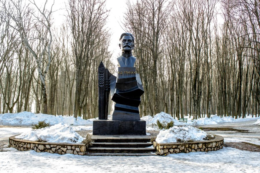 Памятник Константину Глинке фото
