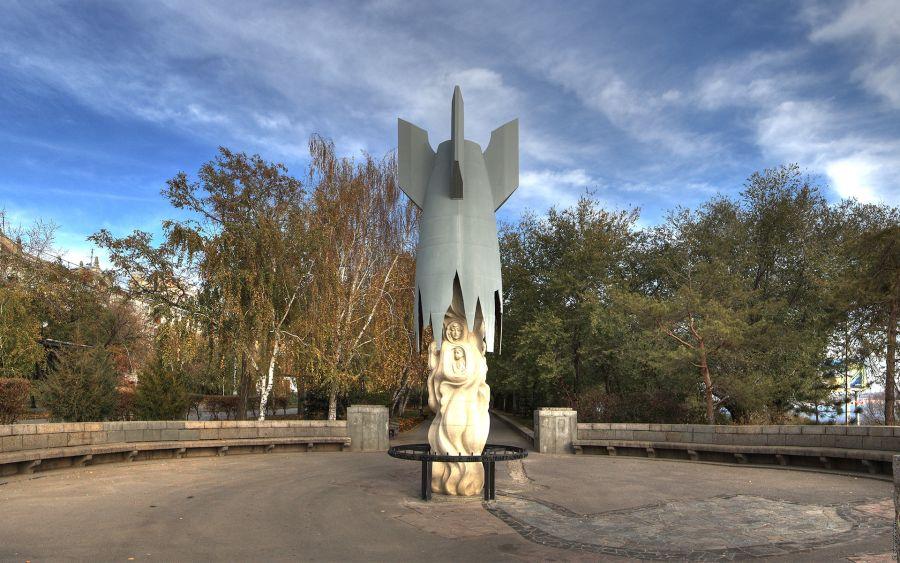 Памятник мирным жителям Сталинграда фото