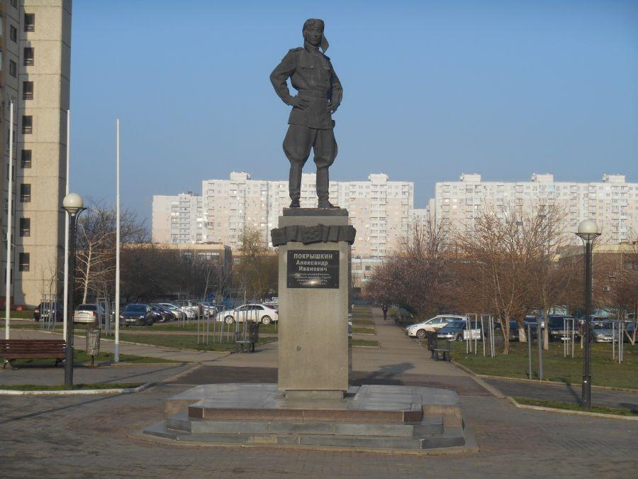 Памятник А. Покрышкину фото