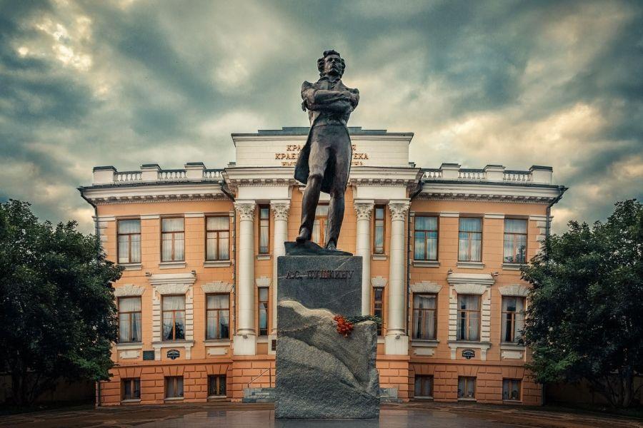 Памятник А. С. Пушкину фото