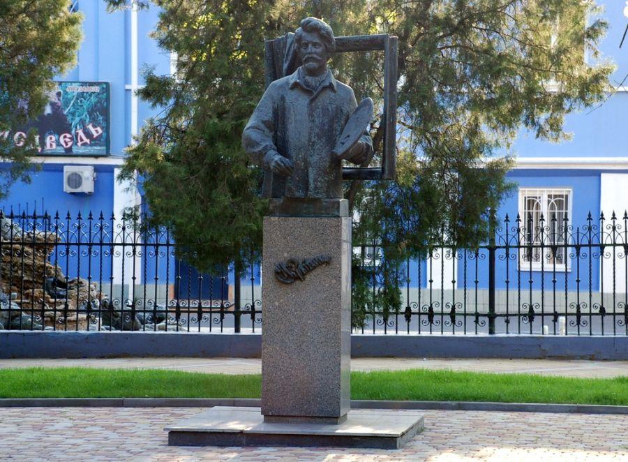 Памятник И. Е. Репину фото