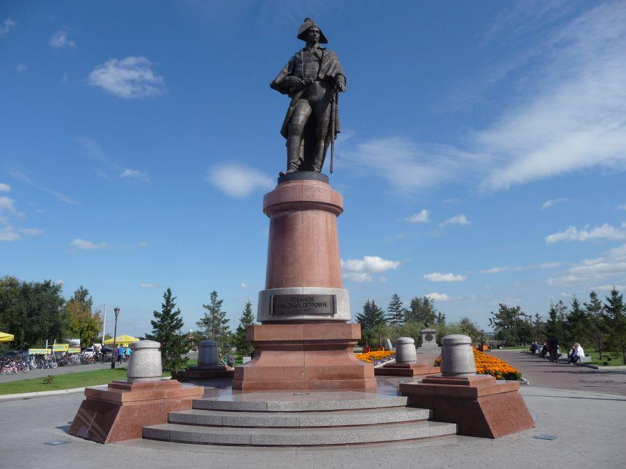 Памятник Резанову Николаю Петровичу фото