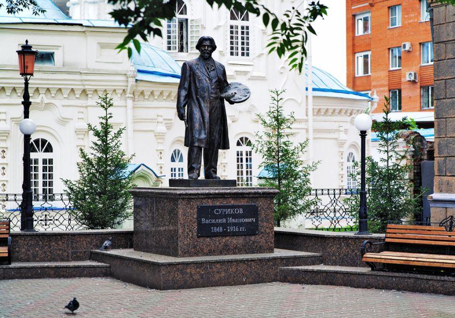 Памятник В.И. Сурикову фото