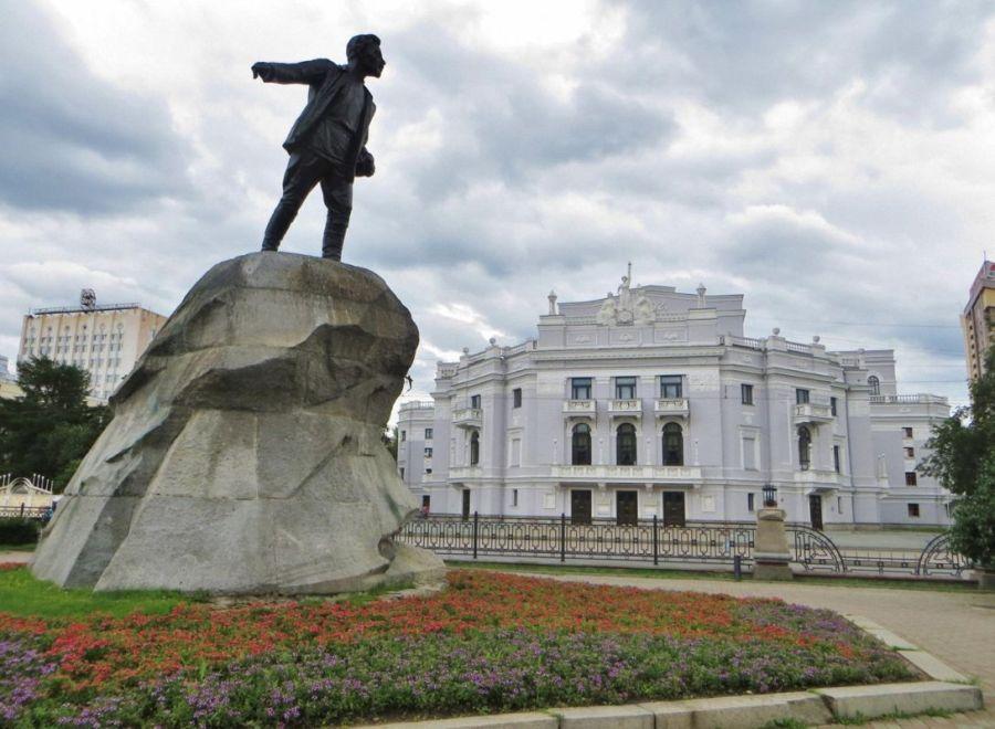 Памятник Свердлову фото