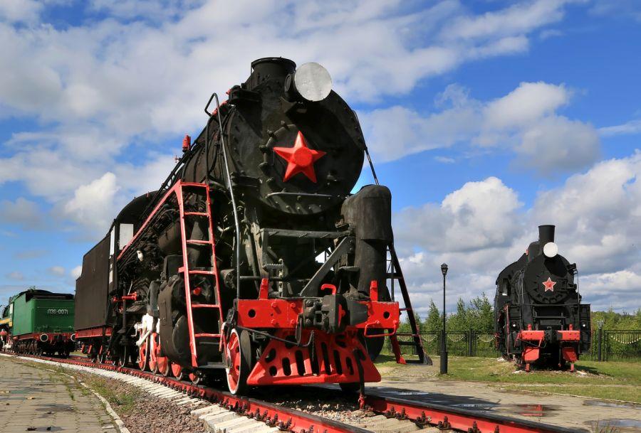 Нижегородский железнодорожный музей «Паровозы России» фото