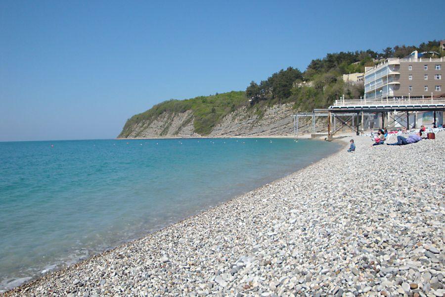 Пляж при пансионате Геолог Ямала фото