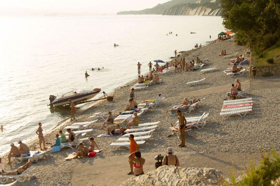 Фотография Пляж при оздоровительном комплексе Лазурный