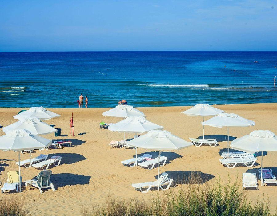 Пляж при гостевом доме Морской конек фото