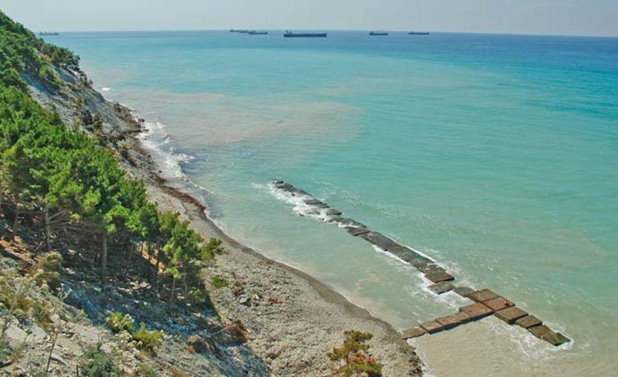 Пляж на мысе Дооб фото