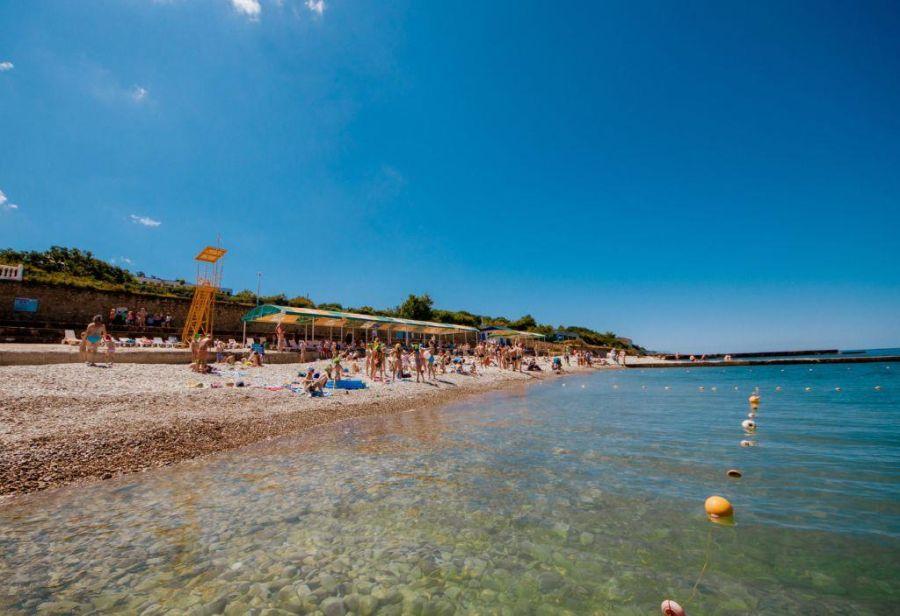Пляж пансионата Кабардинка фото