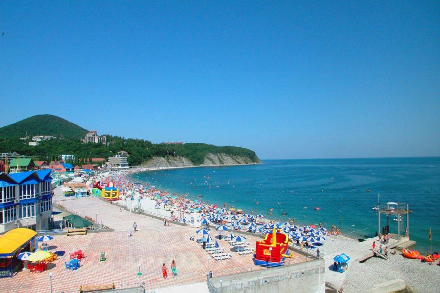 Фотография Пляж пансионатов Ольгинка и Светлана