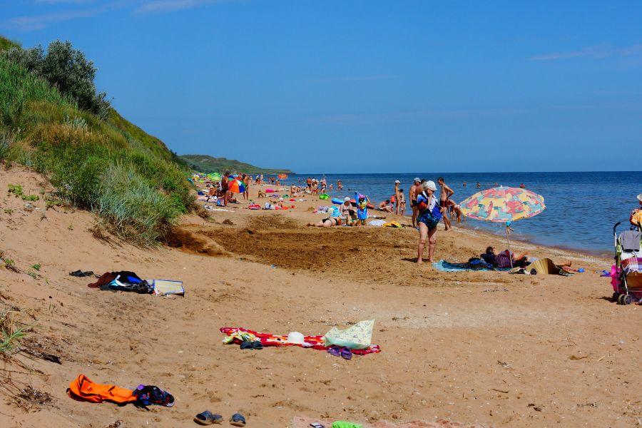 Пляж в районе улиц Береговая и Гагарина фото