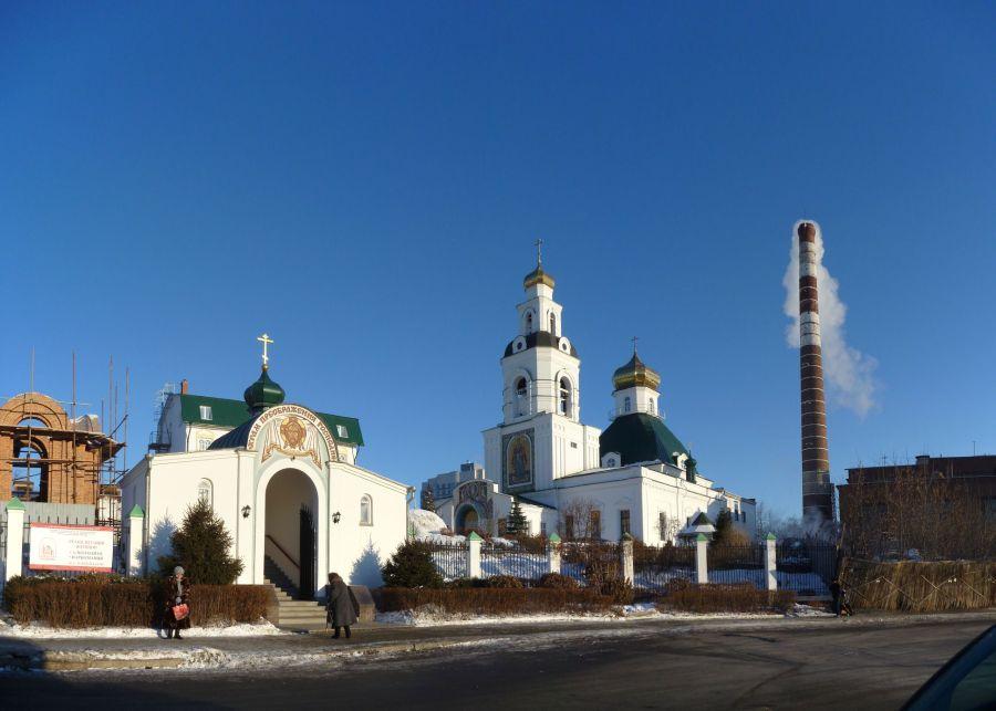 Преображенская церковь фото