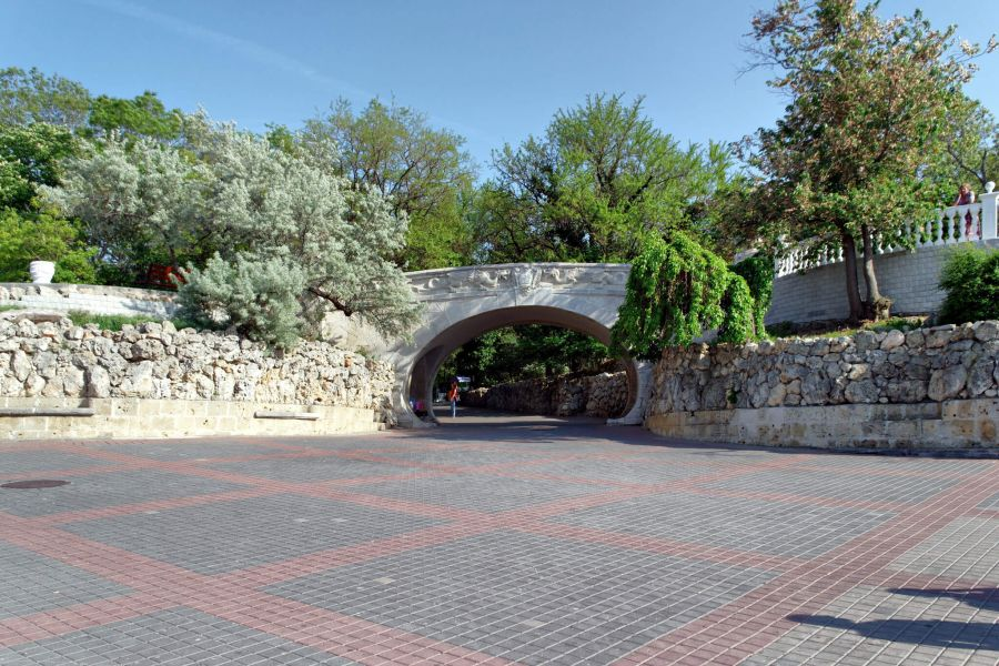 Приморский бульвар фото