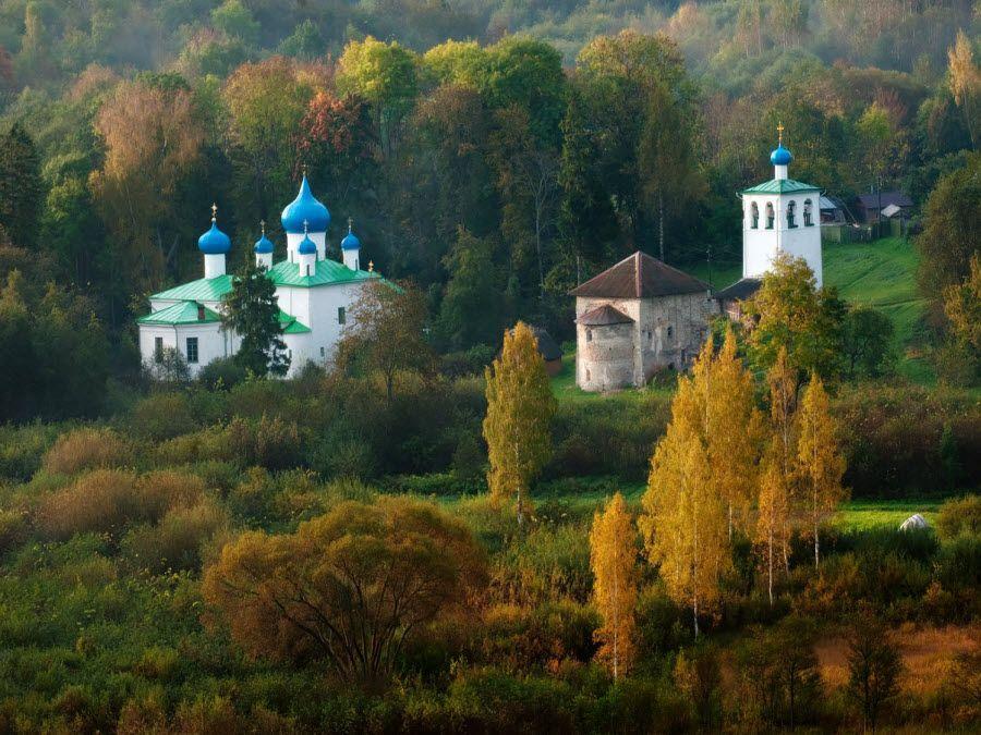 Фото Мальский монастырь в Псковской области