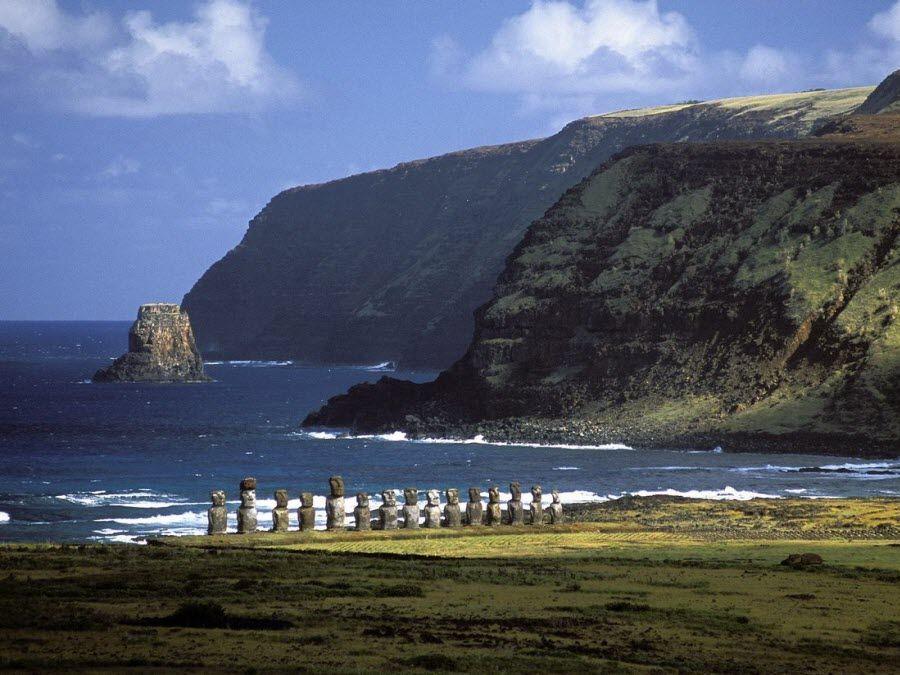Фото острова Рапа-Нуи