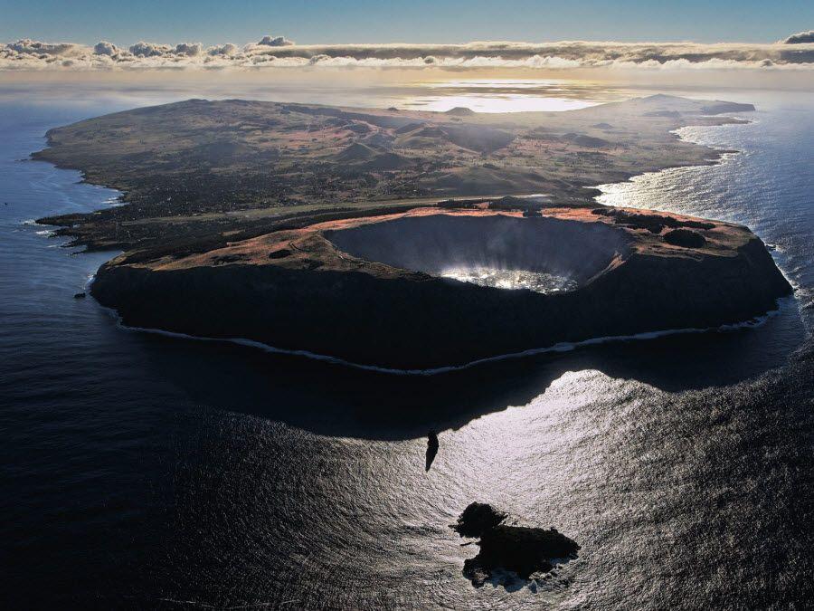 Фото вулканов Рапа-Нуи