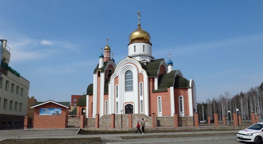 Храм во имя Святого равноапостольного князя Владимира фото