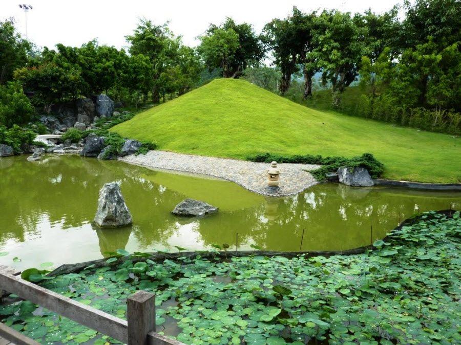 Сад камней в Перми фотография