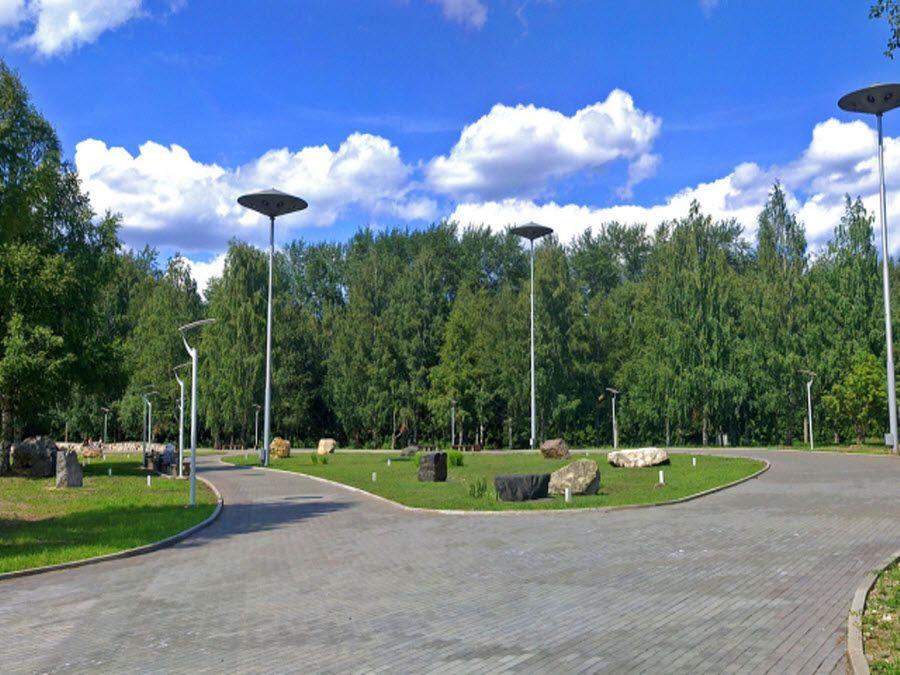 Сад имени 250-летия Перми фотография
