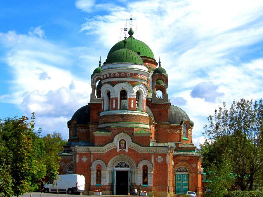 Фото красивого храма Ростовской области