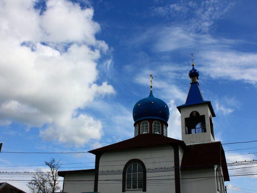 Фото красивой церкви Ростовской области