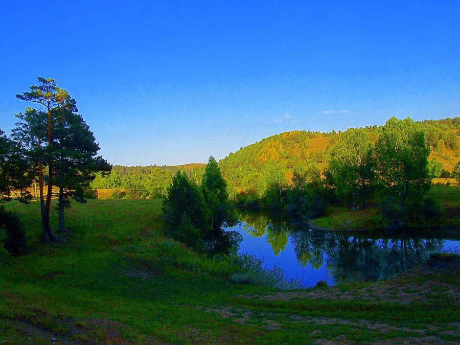 Салаирский кряж в Новосибирской области фото