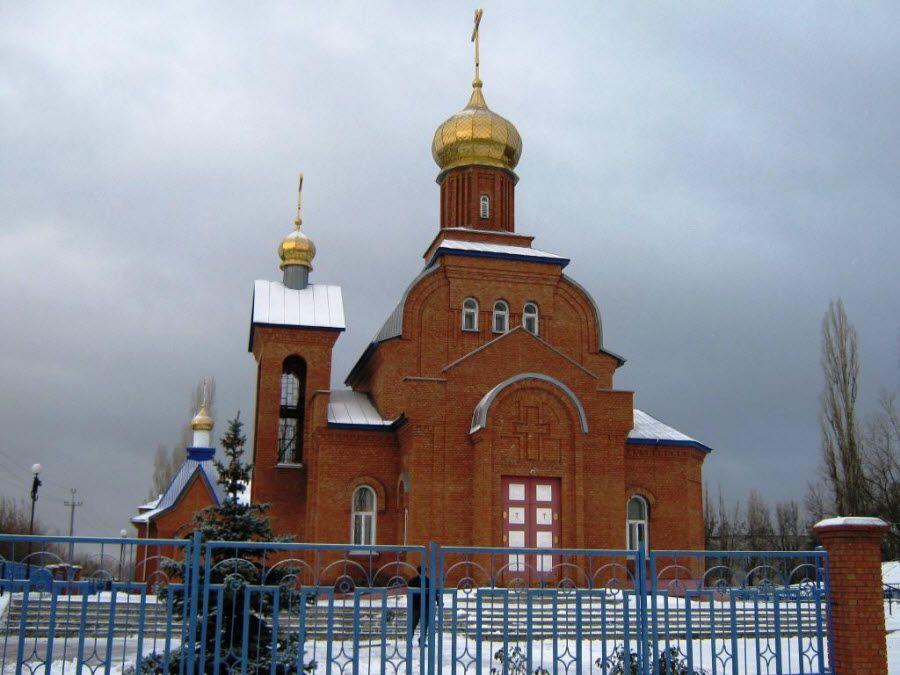 Вид на церковь Саратовской области фото