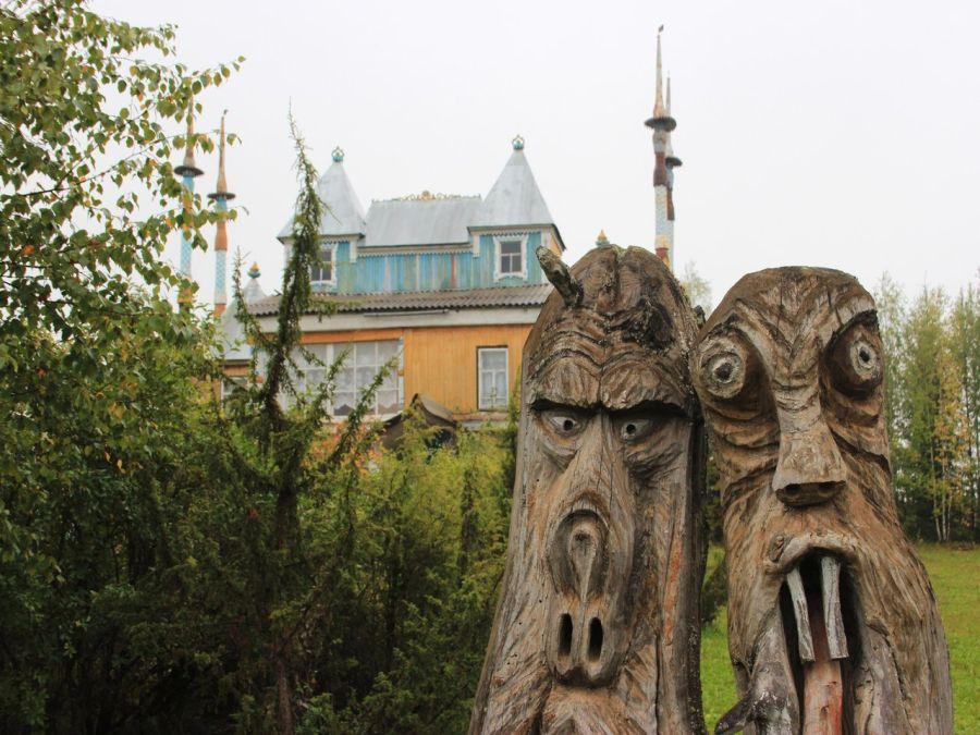 Музей деревянной скульптуры в Пармайлово фото