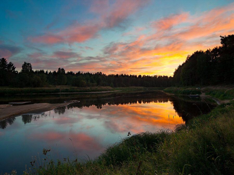 Фото красивого озера Смоленской области