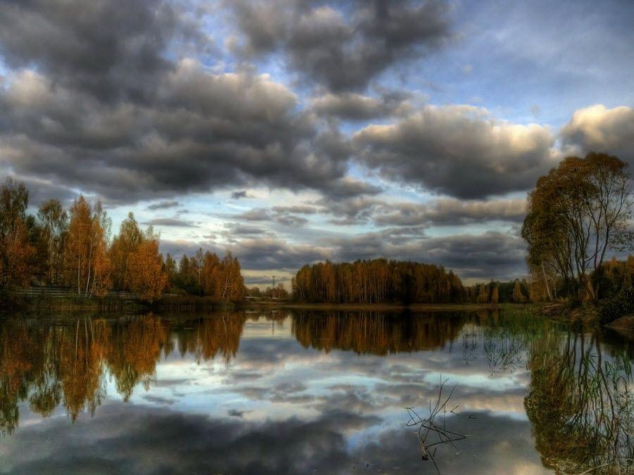 Фото красивой природы Смоленской области осенью