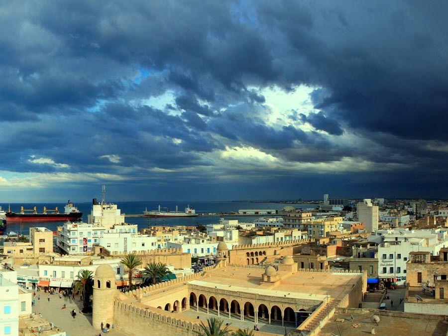 Фото города Сус в Тунисе