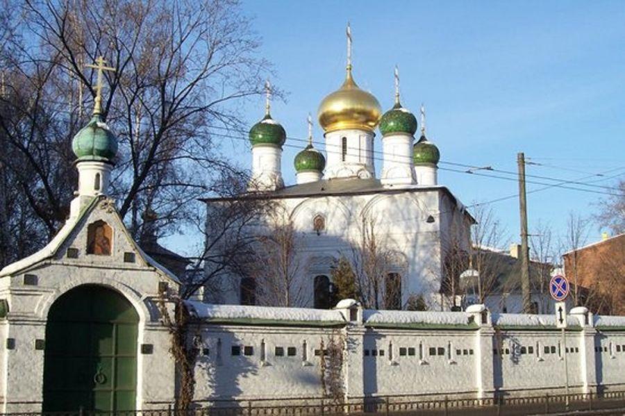 Сретенский монастырь фото
