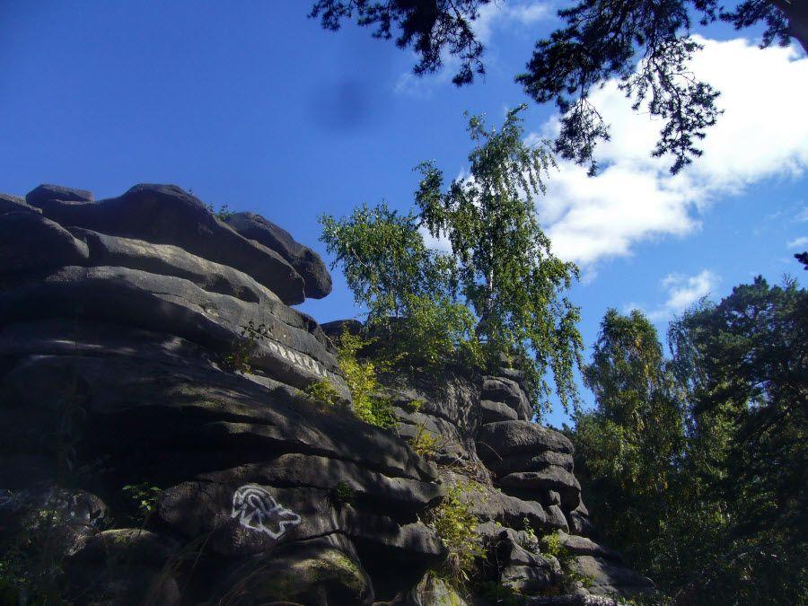 Каменные палатки в Екатеринбурге фото