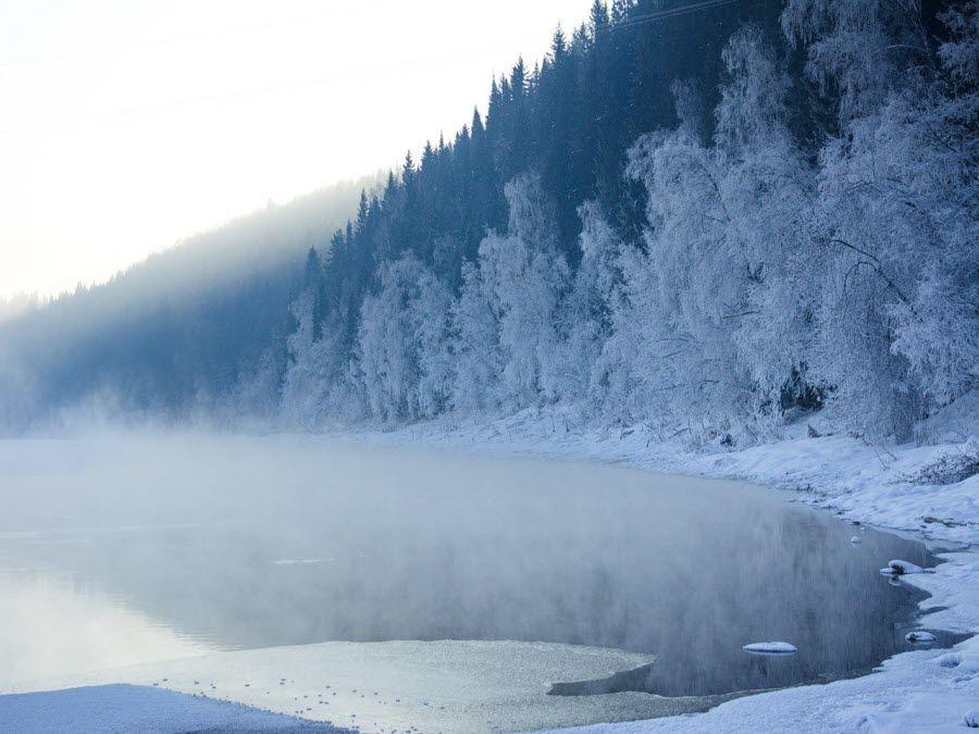Свердловская область – Урал зимой фото