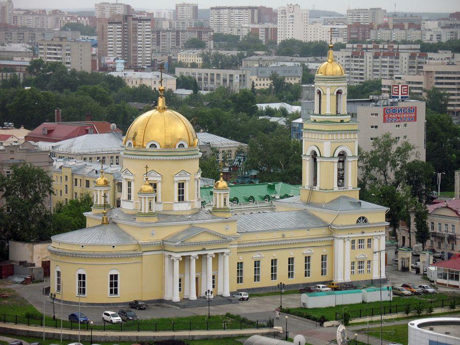 Свято-Троицкий кафедральный собор (Рязановская церковь) фото