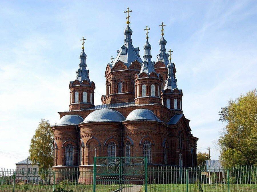 Фото красивого собора Тамбовской области