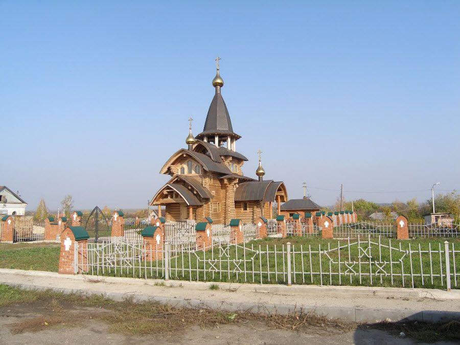 Фото красивой церкви Тамбовской области