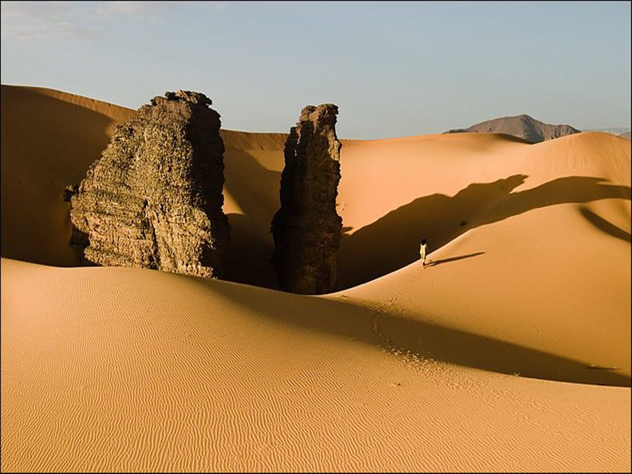 Фото потрясающий вид в Тассилин-Аджер