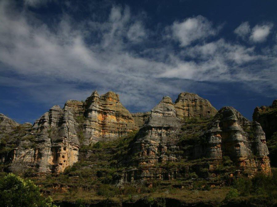 Вид на горы с Тауланару фото