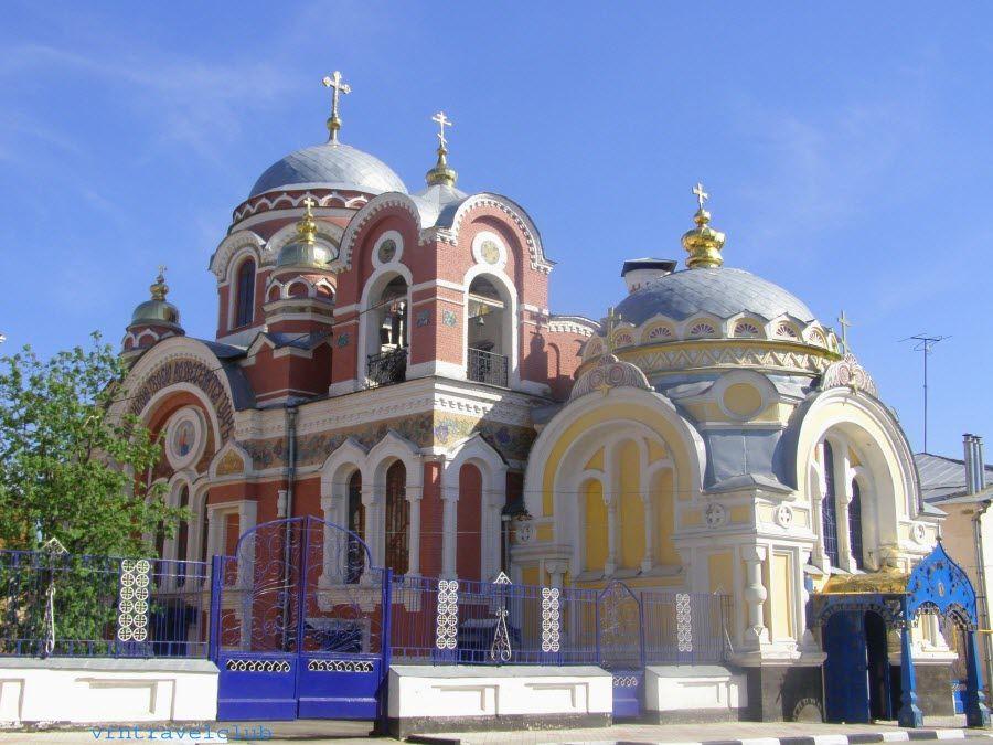 Великокняжеская церковь в городе Елец Липецкой области фото