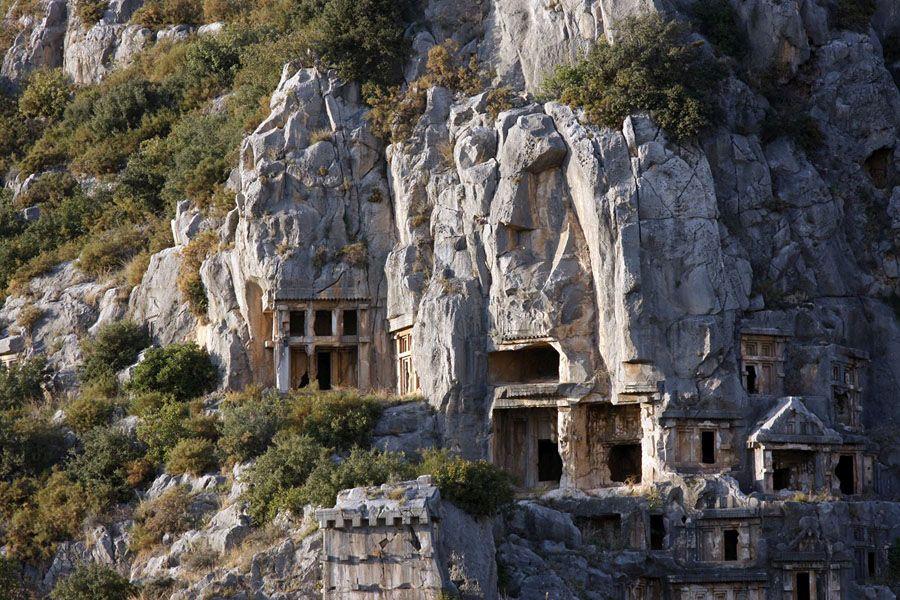 Фотография руин Миры