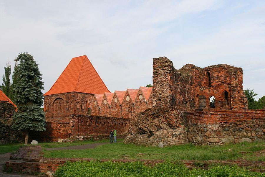 Торуньский замок фото