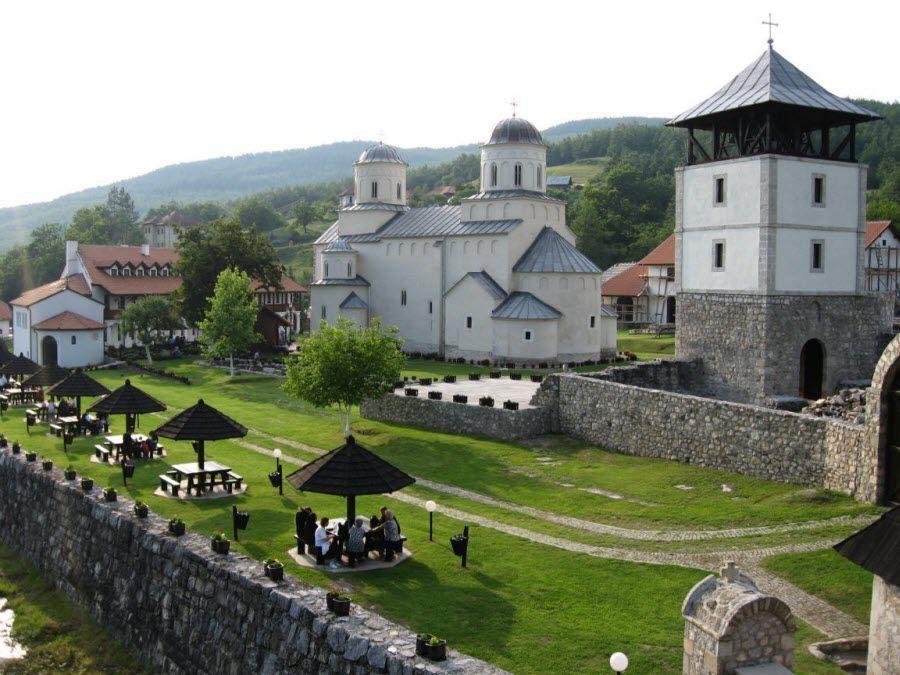 Фото города Плевля в Черногории