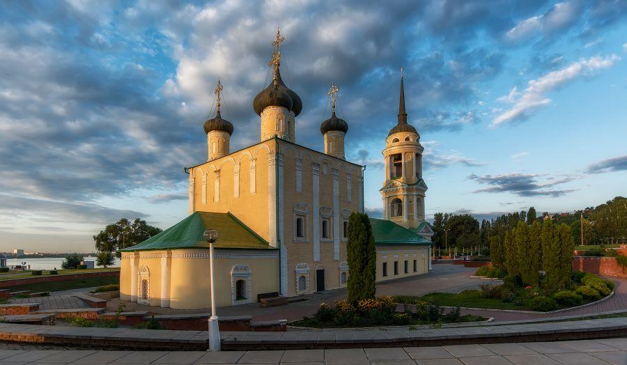 Успенская Адмиралтейская церковь фото