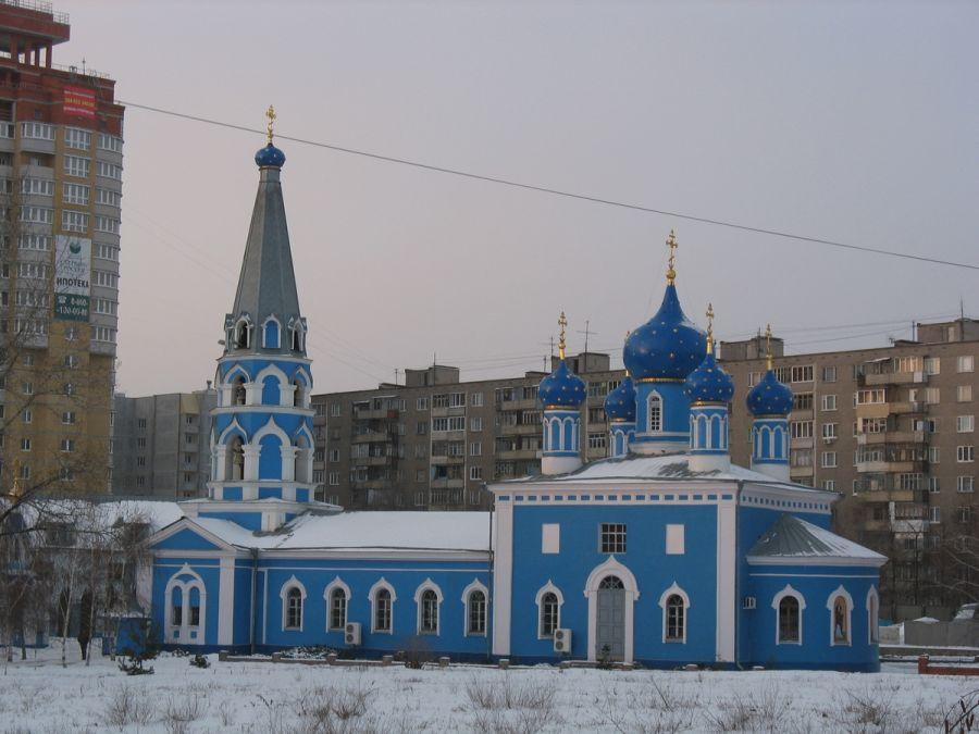 Успенская церковь на Монастырщенке фото