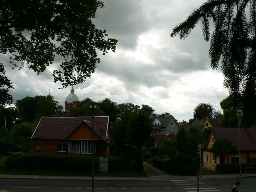 Фото архитектуры в Утене. Литва