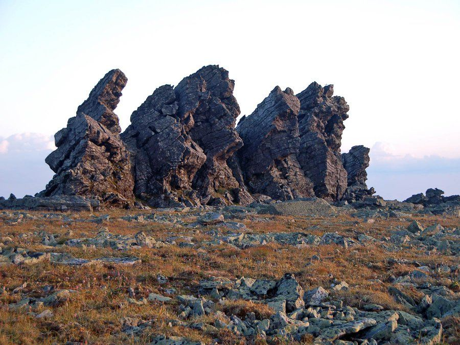 Вершина горы Отортен фото