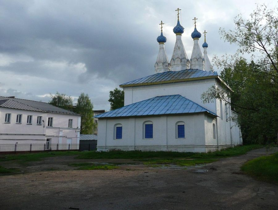Владимирская церковь на Божедомке фото